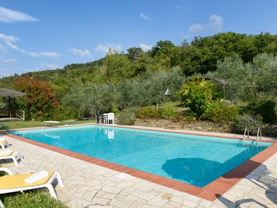 Photo for Tuscany family cottage and Pool , Borgo Tranquilitta - LA LUNA