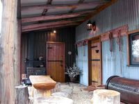 Rustic peaceful and excellently presented.