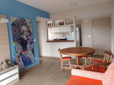 Photo for Praia do Tombo Flat Apartment 300 meters from the beach