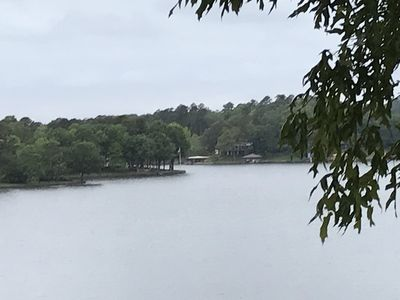 Photo for Beautiful View of Lake Hamilton with Covered Boat Slip!