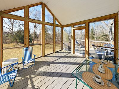 Porch - Welcome to East Boothbay! This stunning property is professionally managed by TurnKey Vacation Rentals.