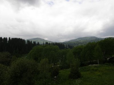 Photo for Magnificant views. Carpathian ambiance. Forest and winderness trails, skiing.