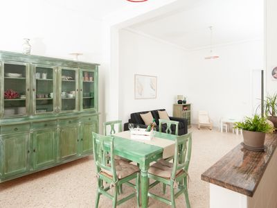 Photo for Il Marinaio - Apartment with sea view rooftop a few meters from the beach