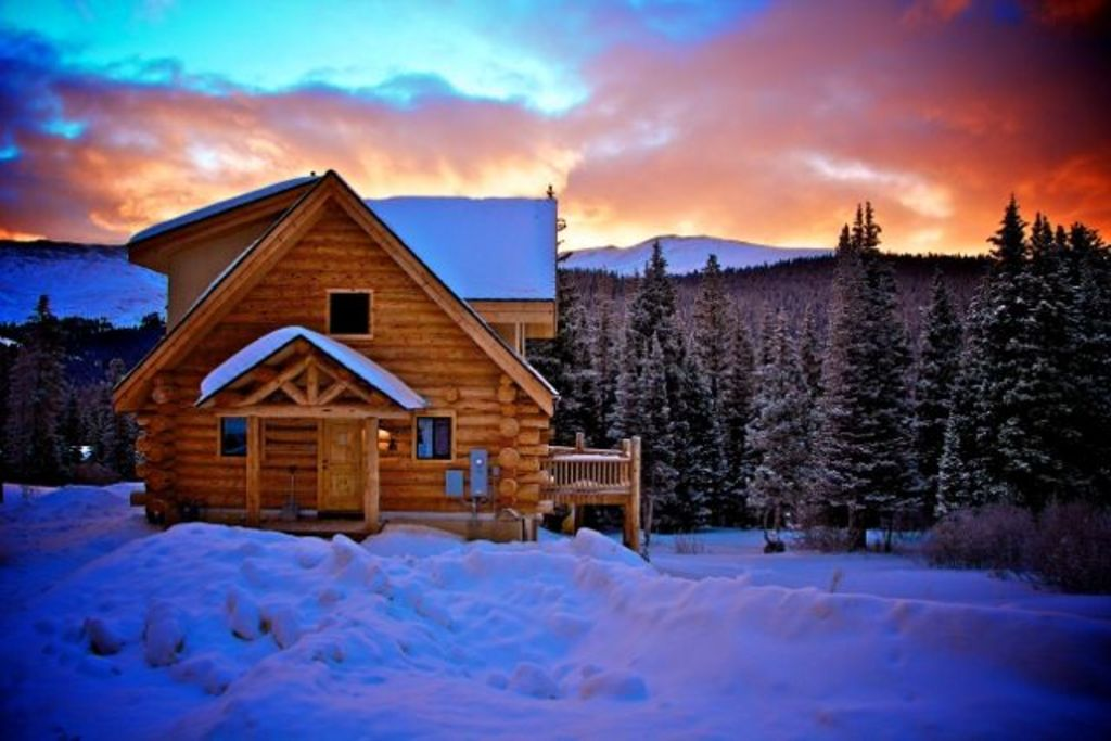 village quandary log sunrise million cabin with beautiful views secluded a rental in breckenridge cabins