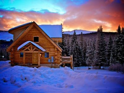Photo for Breckenridge Cabin with Million $ Views and Hot Tub