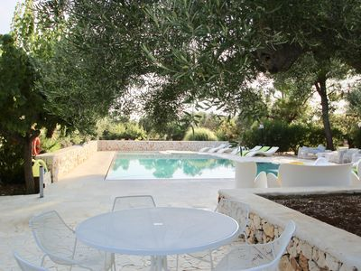 Photo for Peaceful Rural Stay in beautiful flat within an estate with salt-water pool