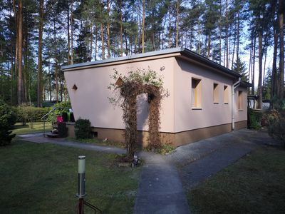 Photo for Bungalow on the lake - 2 minutes walk