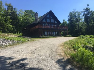 Photo for Magnificent LOG Home Getaway Special Fall Rates