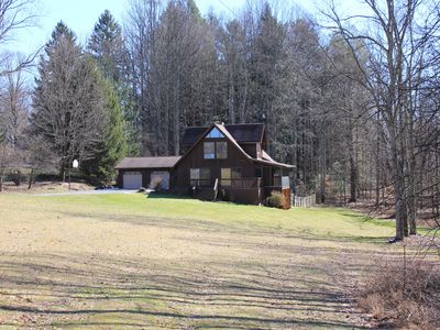 Photo for Secluded Luxury Mountain Chalet near downtown Fayetteville