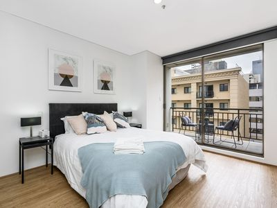 Photo for 504 - Luxury and Location Perth CBD Huge beautiful up high - smart TV