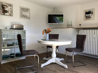 Photo for Modern, quiet non-smoking apartment in Bilk, comfortably furnished