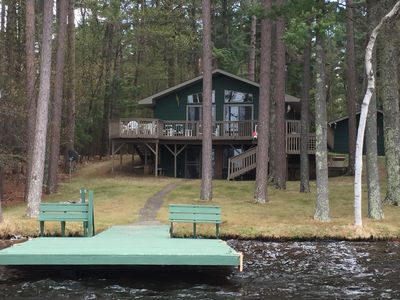 Photo for Lovely Open-Concept Home on Catfish Lake w/Guest Cottage