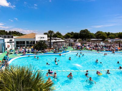 Photo for Camping le Clarys Plage ***** - Cozy 4-room mobile home 6/7 people