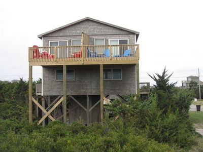 Photo for Two By The Sea A  on the Oceanfront in Avon is a perfect getaway for a small family or a couple looking for a quiet retreat!