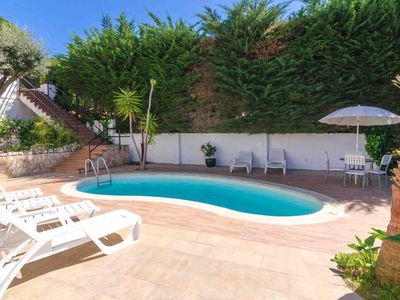 Photo for Club Villamar - Fantastic furnished villa with a lot of style, has private pool, located in a pri...
