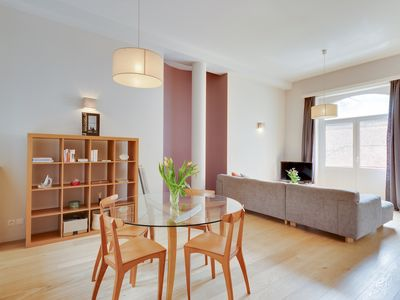 Photo for St Catherine Charming 1-bedroom Apartment - Brussels Central