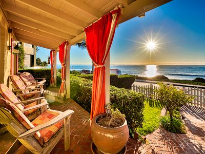 Photo for 15% OFF JULY! Oceanfront Cottage, World Class Views & Jacuzzi