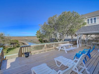 Reduced Rates*,Ocean, Marsh, & River Views! Dock For Fishing & Sunsets