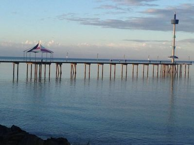 Brighton jetty - 850 metres from Sea J's