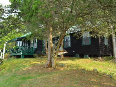 Photo for Grindstone Island Waterfront Lodge, Cabin&Boathouse on 600 Acre Private Preserve