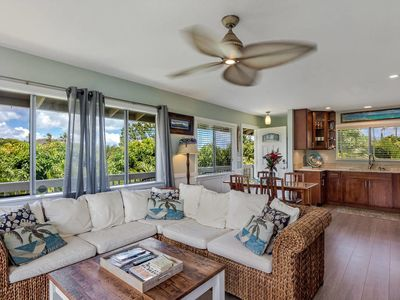 Photo for Kapaka Cottage with 2 bedroom & 1 bath - Central Air & full kitchen