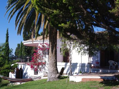 Photo for Spacious villa, private garden, huge terrace with full sea view, Wifi
