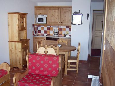 Photo for Apartment Rochebrune in Orcières-Merlette - 6 persons, 1 bedrooms