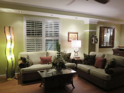 Photo for REDUCED RATES July, Aug 4/3 House & cottage, free wifi, pool, near Duval.  Hurry