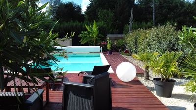 Photo for HOUSE OF ARCACHON BASIN WITH SWIMMING POOL AND PRIVATE PARKING