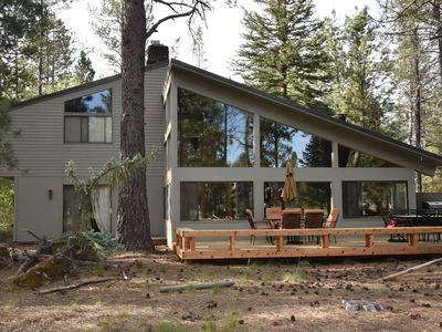 Photo for Sunriver Vacation Home-8 SHARC Passes-Pool Table-5th Fairway-Sleeps 14-4 Bdrms+