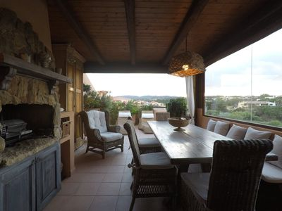 Photo for Romantic apartment with sea view on the Maddalena archipelago.