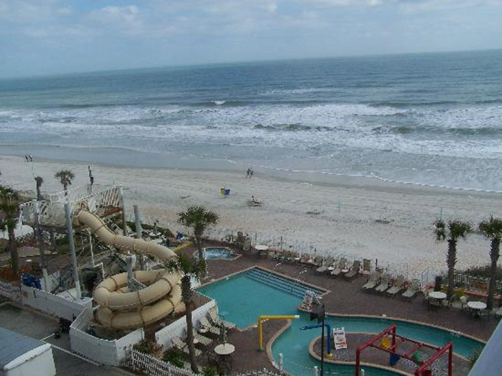 Cove On Ormond Beach Resort 2bd Condo 2 Queens Full Kitchen Balcony Jetted Tub