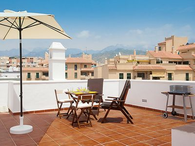 Photo for Apartment Penthouse Cristina  in Nerja, Costa del Sol - 4 persons, 2 bedrooms