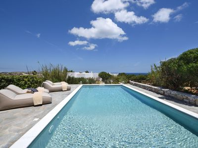 Photo for Zefyros - Sea view Private Pool Villa