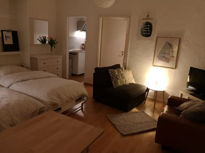Photo for Cozy apartment on the historic market square (near Cologne Trade Fair)