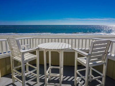 Photo for Oceanfront, Pet Friendly. What we require of....