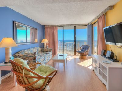 Photo for Beautiful Ocean Front Condo - Booking 2019!