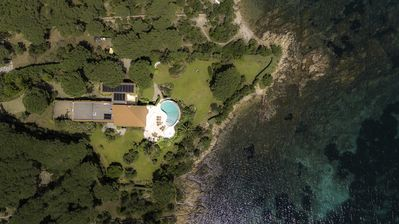 Photo for Waterfront property on private estate with sea views and direct beach access