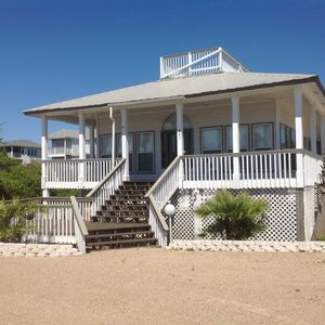 Photo for Captain N Crew 3bd/2bth 2nd tier home private heated pool 11/2 blocks from beach
