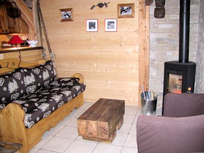 Photo for Chalet 6 pers. on the slopes - 3 Rooms 6 people