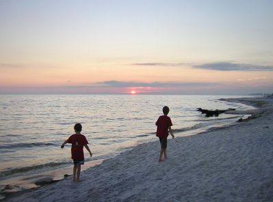 Sundown at Santa Rosa Beach