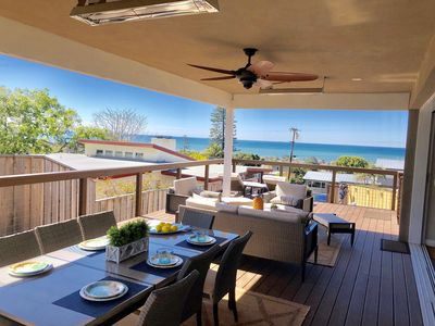Photo for Beautiful Solana Beach oceanview property, built in 2019.