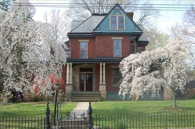 McDowell Studio is the entire top floor of this handsome c.1890 house.