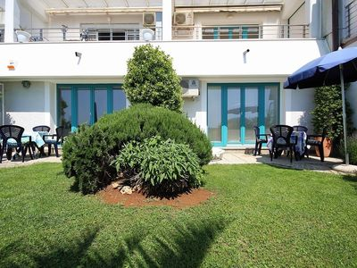 Photo for Studio with air conditioning and sea view 20 m from the Adriatic Sea