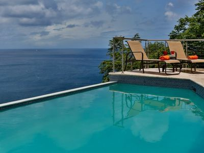 Photo for Specials Available on this fabulous new 6 bedroom villa with stunning views of Marigot Bay