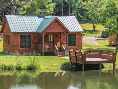 Photo for Secluded, Cozy, Cabin - Seven Springs - Sleeps 4