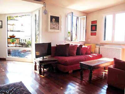 Photo for Wonderful, Quiet, Wood Floors, Nice Terrace W.Spectacular View Of Ancient Rome!