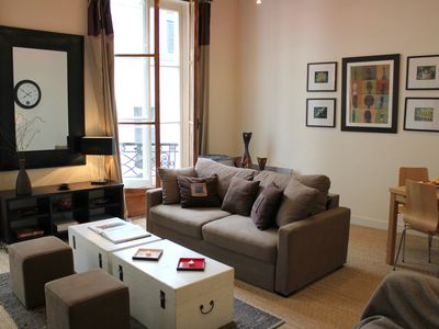 Photo for Ideal Marais Location-Beautiful 1BR with a/C_4 Guests_540 Sqf