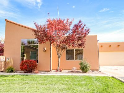 Photo for Beautifully decorated home w/ shared hot tub & pool - near Arches National Park!