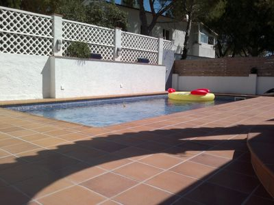 Photo for Nice houss for 6 poeple with private pool and garden in L'Escala